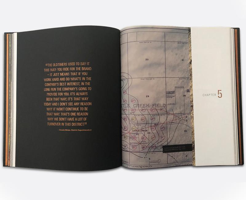 Company History Book Design - Spread 2 - Zielinski Design Associates