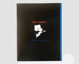 Corporate Company History Book Design - Sky Chef - Zielinski Design Associates