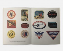 Corporate Company History Book Design - Sky Chef - Zielinski Design Associates Spread 2