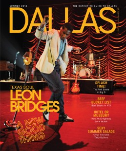 Dallas Magazine - Leon Bridges - Zielinski Design Associates - Dallas, Texas