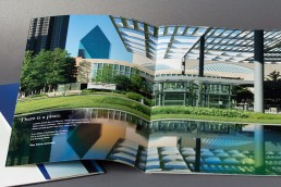 Fountain Place - Dallas, Texas - Brochure Design - Zielinski Design Associates
