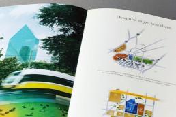 Fountain Place - Dallas, Texas - Brochure Design - Zielinski Design Associates