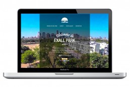 Friends of Exall Park - Web Design - Zielinski Design Associates - Dallas, Texas