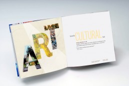 Brochure Design, Capabilities Brochure, Spread, Graphics Group Zielinski Design Associates