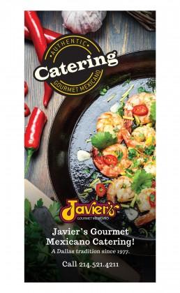 Javiers Gourmet Mexicano - Brochure - Zielinski Design Associates