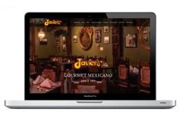 Javiers Gourmet Mexicano - Web Design - Zielinski Design Associates