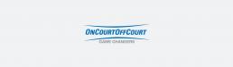 OnCourt OffCourt Logo - Logo Design Dallas, Texas - Zielinski Design Associates
