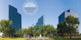 Post Oak Central - Brochure Design - Zielinski Design Associates - Dallas, Texas