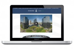 Post Oak Central - Web Design - Zielinski Design Associates - Dallas, Texas
