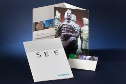 Siemens Medical - Brochure - Collateral Design - Zielinski Design Associates - Dallas - Texas