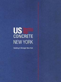 US Concrete - Pocket Folder - Zielinski Design Associates - Dallas, Texas