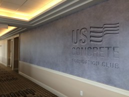 US Concrete - Brand Identity - American Airlines Center - Dallas, Texas