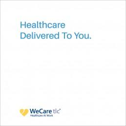 WeCare tlc - Zielinski Design Associates - Branding & Identity- Dallas, TX