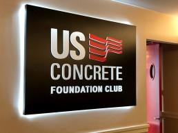 Zielinski Design Associates - US Concrete - American Airlines - Dallas, Texas