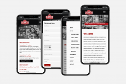 Restaurant Web Design, Online Ordering, Online Catering, Responsive, Zielinski Design Associates