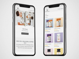 CBD Web Design, Shopify Web Design, E-Commerce Web Design, Responsive, Wellness Organics, Zielinski Design Associates